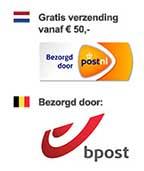 Verzending in Nederland en België