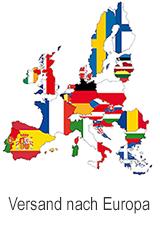 Versand nach Europa